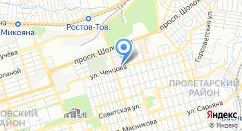 Государственное бюджетное учреждение Ростовской области Станция переливания крови на карте