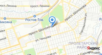 Кровля-Ростов на карте