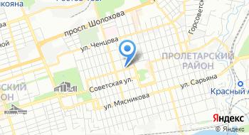 Пролетарский РОСП г. Ростова-на-Дону на карте