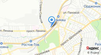 Офис ПК Атрибут в Ростове-на-Дону на карте