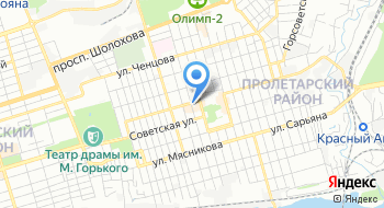 Женская консультация Пролетарского района г. Ростов-на-Дону на карте