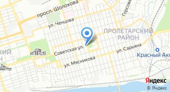 Территориальная избирательная комиссия Пролетарского района на карте