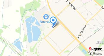 Установочный центр Автон на карте