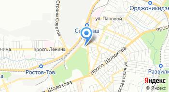 Дворец культуры Ростсельмаш на карте