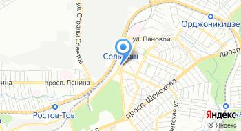 Межрайонная ИФНС России № 23 по Ростовской области на карте