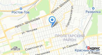 ФГУП РосРАО филиал Южный территориальный округ на карте