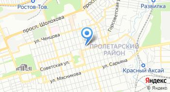 Прокуратура Пролетарского района на карте