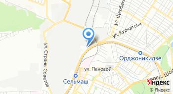 Ростовский завод грузоподъемных устройств на карте