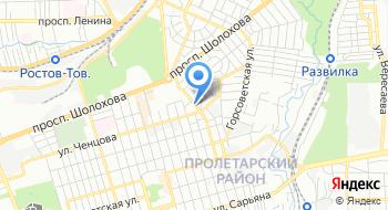 Автостраховка на карте