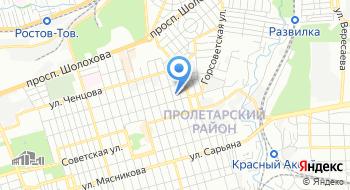 Гкоу РО Ростовская-на-Дону санаторная школа-интернат на карте