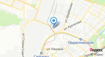 Витражная мастеркая Лераж на карте