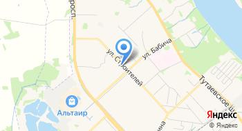 ГУЗ Лечебно-профилактическое отделение № 4 детской поликлиники № 3 на карте