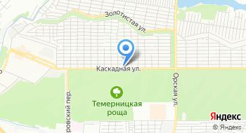 Каскад-Строй на карте