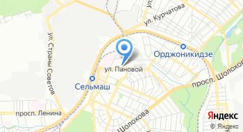 Отдел полиции № 6 УМВД России по городу Ростову-на-Дону на карте