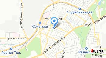 Отдел Муниципального Казначейства по Первомайскому Району на карте