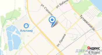 Средняя школа № 87 на карте