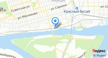 Ростовское поисково спасательное подразделение на карте
