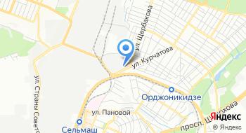 Фабрика карт на карте