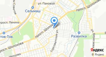 Экогаз-Юг Берберовка на карте