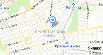 Каменскволокно, Ростовский филиал на карте