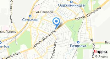 Кирпичный город на карте