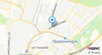 Зуботехническая лаборатория Династия на карте