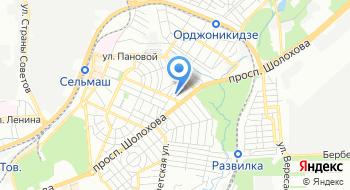 Донвитраж на карте