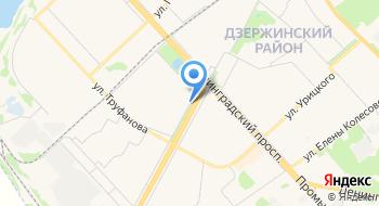 ГУЗ Лечебно-профилактическое отделение № 1 Детской поликлиники № 3 на карте