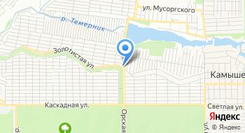 Пейнтбольный клуб Тор на карте