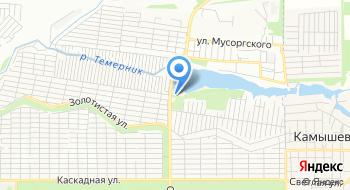 Ростовское море на карте