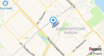 Отдел ПФР в Дзержинском районе г. Ярославля без образования юридического лица на карте