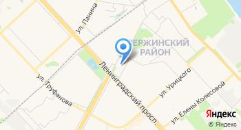 Рынок Дзержинского района на карте
