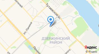 Баня №1 на карте