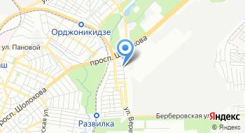 Отвертка на карте