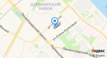 Государственное общеобразовательное учреждение Ярославской области Ярославская Школа-интернат №8 на карте