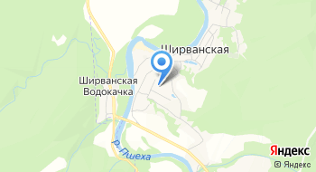 Черноморские леса на карте