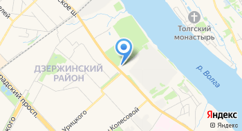 ТДК Фанера Ярославль на карте