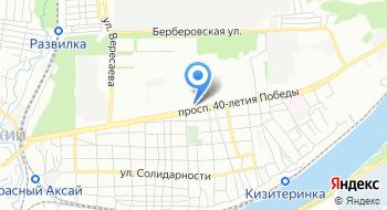 Мбуз городская поликлиника № 9 города Ростов-на-Дону на карте