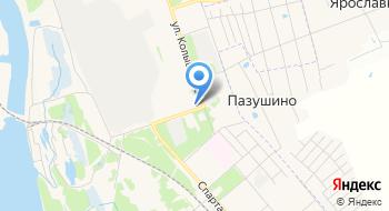 Ярославский хлебозавод №4 на карте