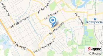 КЦ Роспо Ярославль на карте