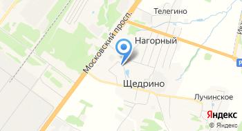 Мини - отель Щедрино на карте