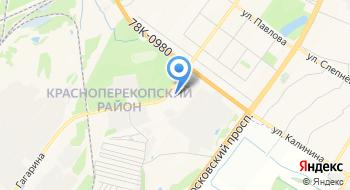 Троллейбусное депо №2 на карте