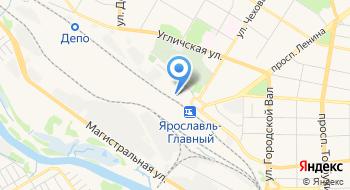Ярославский магистральный сортировочный центр на карте