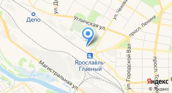 Региональный ИВЦ Ярославль Ярославского ИВЦ СП ГВЦ-филиала РЖД на карте