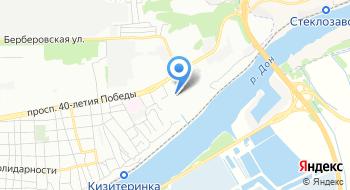 УФМС России по Ростову и РО в Пролетарском районе на карте