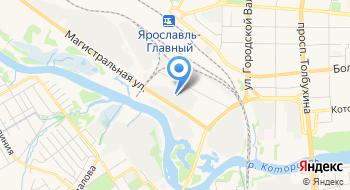Яртехприбор на карте