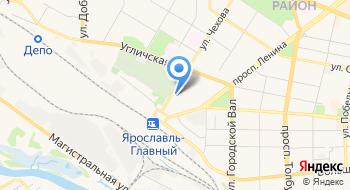Ярославское региональное управление Желдорконтроль РЖД на карте