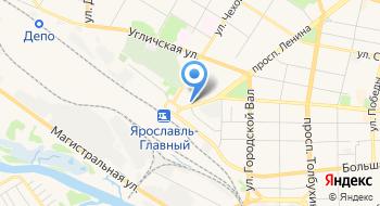 Ярославская межобластная ветеринарная больница Справочная на карте