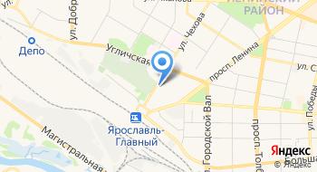 ГБКУЗ ЯО Поликлиника №2 Женская консультация на карте
