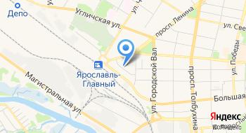 УЦ Ярославль на карте